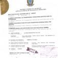 Certificado Argentina
