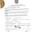 Certificado Bolívia